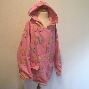 Other - 💕Pony Pink raincoat size 8 EUC